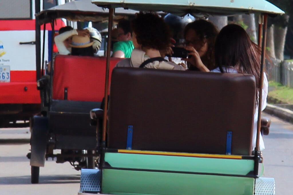 Tuk Tuk driving in Siem Reap
