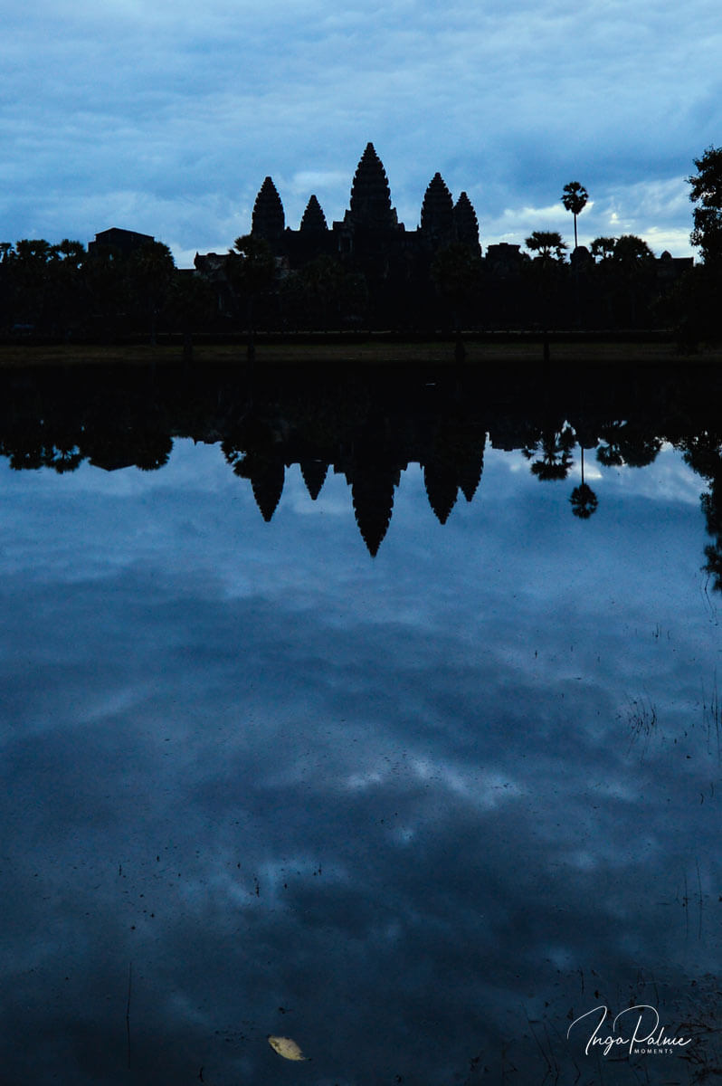 Angkor Wat - Blue Hour in the morning