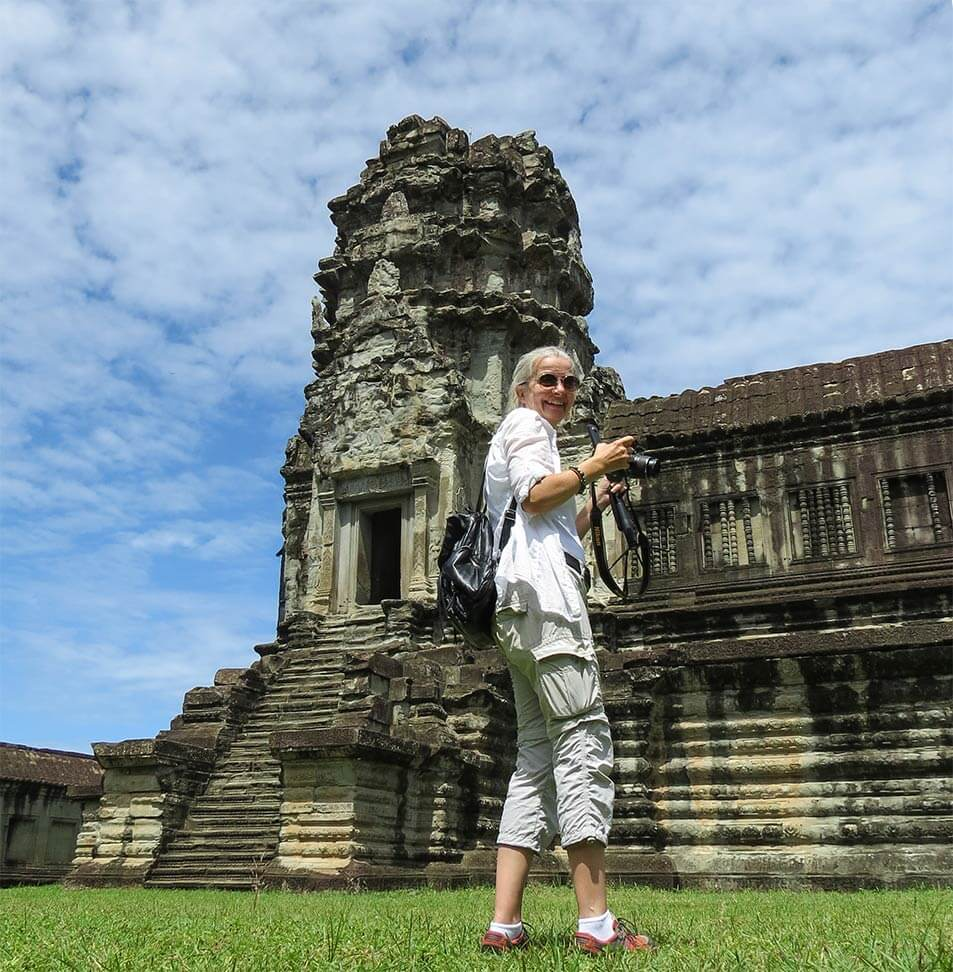 Angkor Wat - it's me, Inga :-)