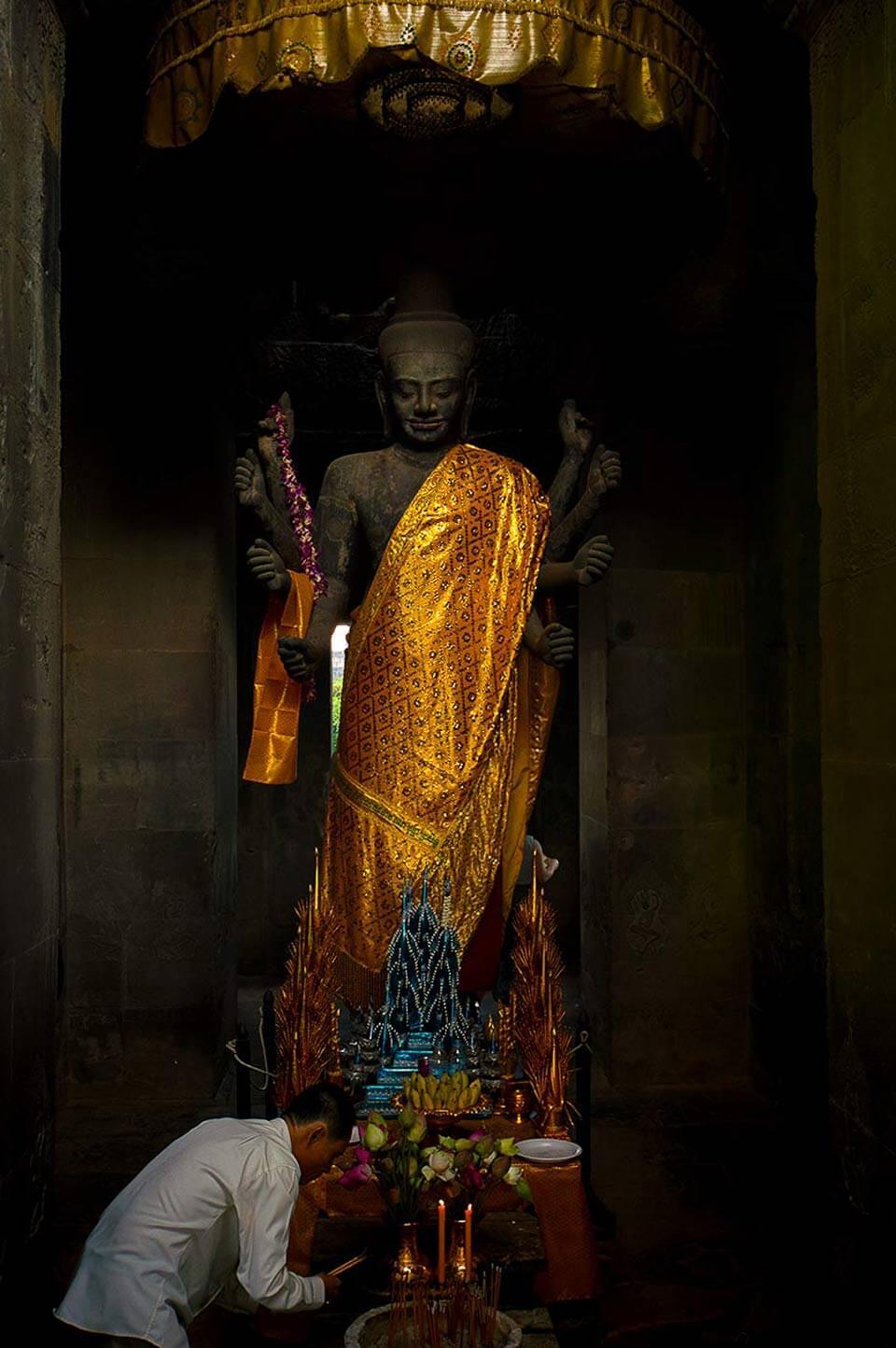 Angkor Wat - Vishnu
