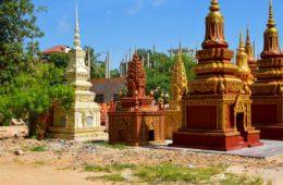 Stupa in Siem Reap